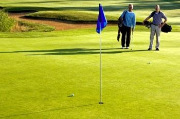 Golf Round, Bacon Roll and Coffee For Two (£13) or Four (£25) People (Up to 66% Off)