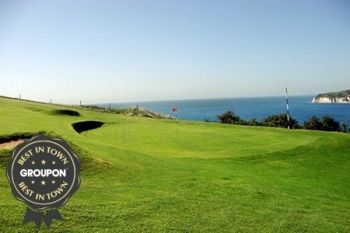 Axe Cliff Golf Club: Round Plus Coffee For Two (£23) or Four (£39) (Up to 70% Off)