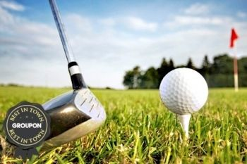 Golf: 18 Holes With Bacon Bap and Coffee from £14 at Caddington Golf Club (Up to 65% Off)