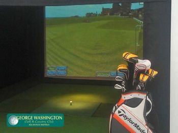 51% off Golf Simulator and Leisure Access for Two - £22