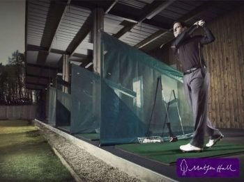 52% off Nine Holes of Golf and Driving Range Session for 2 - £10
