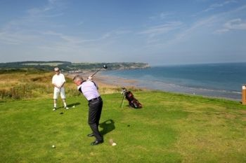 Whitby Golf Club: Round For Two or Four from £22 (Up to 64% Off)