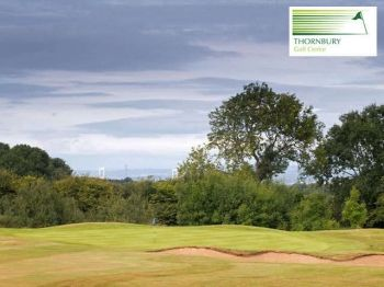73% off Full Day of Golf and a Burger Each for Two - £15