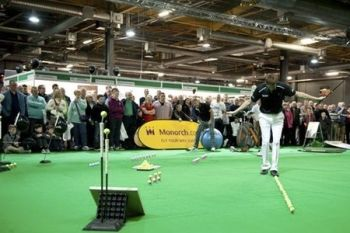The Manchester Golf Show 2014: One Ticket for £7.50 at EventCity (35% Off)