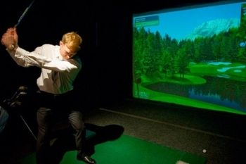 One-Hour Golf Simulator Session Plus Drink from £29 at City Golf (Up to 46% Off*)