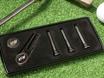 40% off Personalised Golf Gift Set - £15