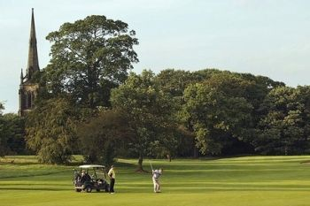 18 Holes of Golf With 100 Range Balls from £19 at Oulton Hall (Up to 74% Off)