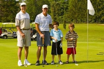 18 Holes of Family Golfing from £12.45 at Parley Golf Centre (Up to 52% Off)