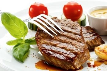 Sirloin Steak With Wine For Two or Four from £18.95 at Parc Golf Club