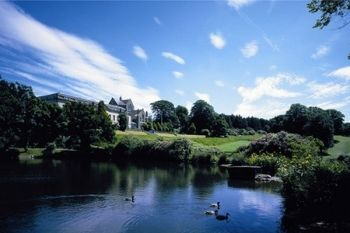 18 Holes of Golf Plus a Bacon Roll and Hot Drink For Two from £27 at 4* Shrigley Hall Hotel (Up to 60% Off)