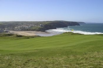 Perranporth Golf Club: 18 Holes For Two or Four from £19.95 (72% Off)