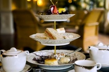 Afternoon Tea For Two or Four Plus Prosecco from £12 at Thornbury Golf Club (Up to 64% Off)
