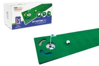 PGA Tour Practise Putting Mats with Training DVDs from £19.99 With Delivery Included (Up to 50% Off)