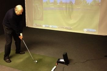 One-Hour Golf Simulator Experience For Four for £19 at AS Golf Academy