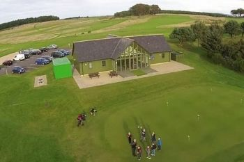 Maverston Golf Course: 18 Holes With Bacon Roll and Coffee For Two or Four from £19