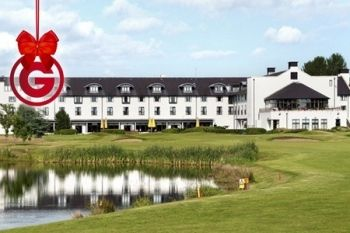 18 Holes of Golf For Two or Four from £39 at Hilton Templepatrick Hotel and Country Club (Up to 39% Off)