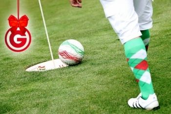 Nine Holes of Footgolf For Two (from £9), Four (from £16) or Family of Four (from £14) at Golf Kingdom
