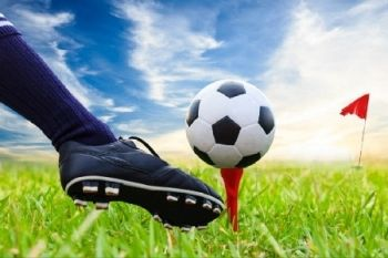 Footgolf Plus Burger and Chips For Two or Four from £15 at Abbey Hill Golf Centre (Up to 53% Off)