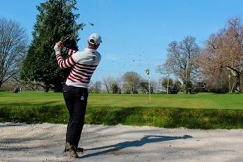 18 Holes of Golf For Two (£16.95) or Four (£32) at Ampfield Golf Club (Up to 53% Off)