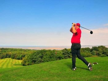 64% off Round of Golf for Two with Coffee - £16