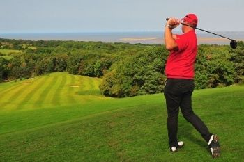 Pennant Park Golf Club: 18 Holes With Coffee For Two or Four from £15 (Up to 61% Off)