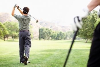 Breedon Priory Golf Centre: 18 Holes Plus Coffee For Two or Four from £18 (Up to 66% Off)
