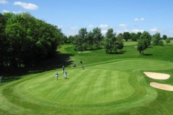 18 Holes and Gourmet Burger Meal For Two (£19) or Four (£37) at Wycombe Heights Golf Centre (Up to 57% Off)