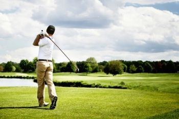 Deangate Ridge Golf Club: 18 Holes With Range Balls, Bacon Roll and Coffee For Two or Four from £18 (Up to 61% Off)