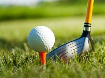 53% off Round of Golf for Two with Driving Range Balls - £28