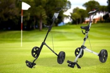 Hillman Golf Trolley from £24.98 With Delivery Included (Up to 74% Off)