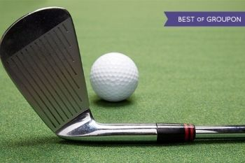 Indoor Golf, Nachos and Beer For Four for £34 at The Locker Room (57% Off)