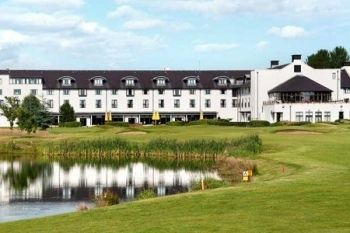 Golf With Buggy Hire For Two or Four from £39 at Hilton Templepatrick Hotel & Country Club (55% Off)