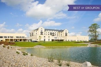 Co. Meath: 1 or 2 Nights For 2 With Breakfast, Dinner, Spa or Golf from £109 Knightsbrook Hotel, Spa and Golf (50% Off)