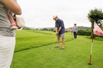 Gwinear Golf Pitch & Putt: 18 Holes With Cream Tea For Two or Four from £11.50 (50% Off)