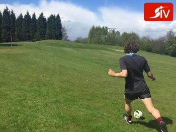 50% off 12 Holes of Footgolf for Two - £7