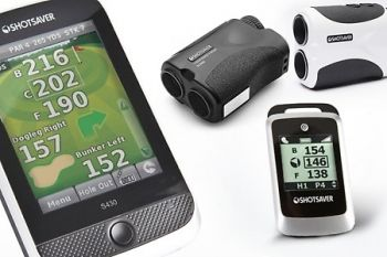 Shotsaver Golf GPS Range Finders from £59.99 or SLR500 Laser Range Finder (£98.99) With Delivery Included (Up to 54% off)