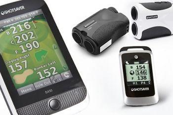 Shotsaver Golf GPS Range Finders from £59.99 or SLR500 Laser Range Finder (£98.99) With Delivery Included (Up to 54% off)