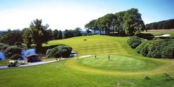 £33 -- 18 Holes of Golf & Bacon Rolls for 2, 63% Off