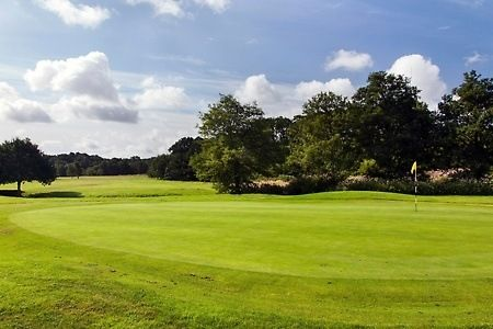 18 Holes of Golf Plus 60 Range Balls For Two (£21) or Four (£36) at Ferndown Forest Golf Club (Up to 63% Off)