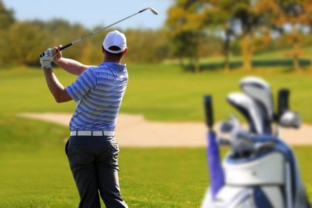 £19 for 18 holes of golf and bacon roll with hot drink for one person or £54 for four people at West Lothian Golf Club - save up to 58%