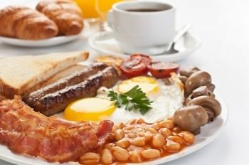 Full English Breakfast For Two or Four from £7.95 at Grove Golf Club