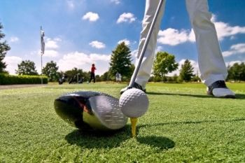 Golf With Driving Range Session, Trolley Hire and Refreshments For Two (£14) or Four (£26) at Tee Time Golf Centre