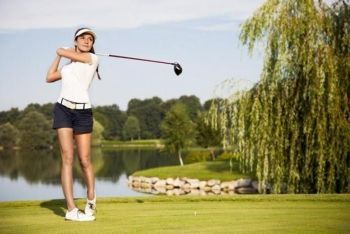 £19 for 18 holes of golf for two people, or £32 for four people at The Kent and Surrey Golf Club - save up to 67%
