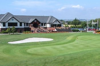 Peterstone Lakes Golf Club: 18 Holes With Bacon Roll For Two for £32 (Up to 45% Off)