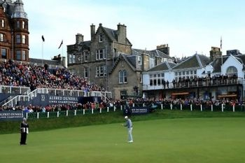 Alfred Dunhill Links Championship: Final Round Concession (£7.50) or Adult (£10) Ticket at St Andrews (50% Off)