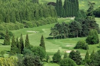 18 Holes of Golf For Two (£20) or Four (£35) at Woodlands Manor Golf Club (Up to 75% Off)