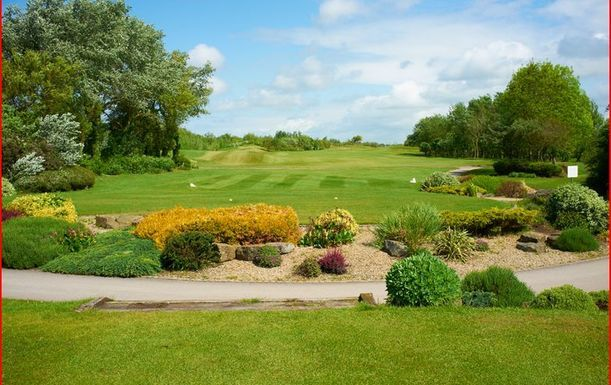 Golf for 2 at Herons Reach Golf Resort including a Soup & Roll and Tea or Coffee Each