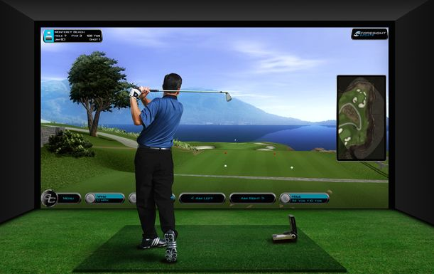 Two Hour Golf Simulator Experience With Beer For Four for at Ferndown Forest Golf Club