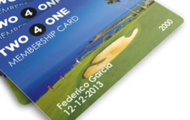 2 for 1 Discount Card for Golf in Spain