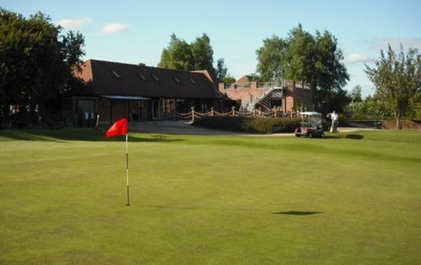 Golf for 4 at Breedon Priory Golf Centre in Picturesque Leicestershire, including a Tea or Coffee each